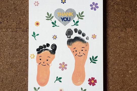 足形アート 〜敬老の日〜