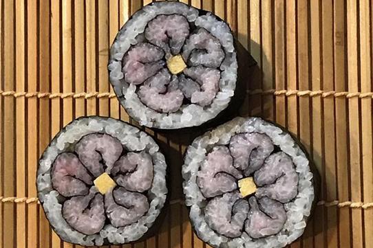 飾り巻き寿司 お花 〜KOMAKITCHEN〜