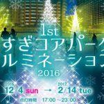 12/4(日) こすぎコアパーク イルミネーション2016 点灯式