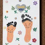 9/7(木)足形アート 〜敬老の日〜