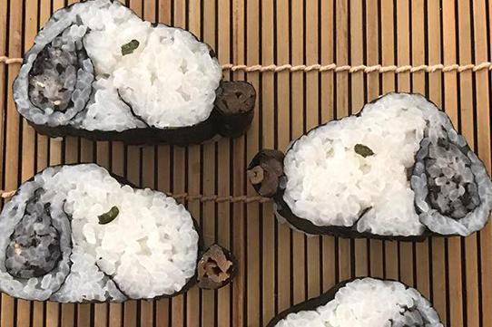飾り巻き寿司 スヌーピー
