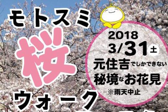 モトスミ桜ウォークフェスタ