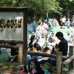 夏の水遊び!中原平和公園はだしの広場