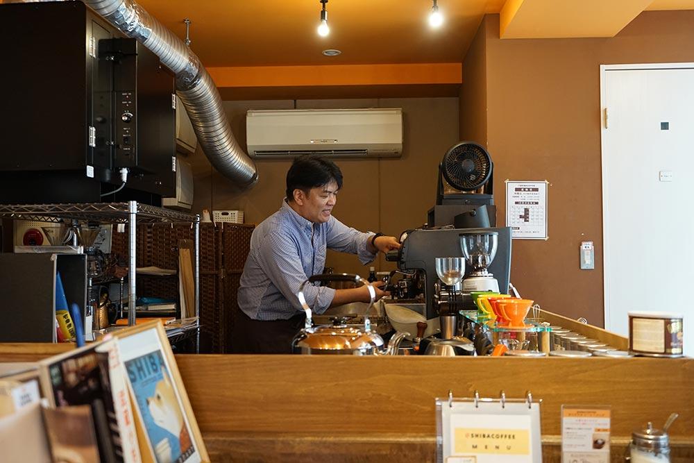 SHIBA COFFEE 内観
