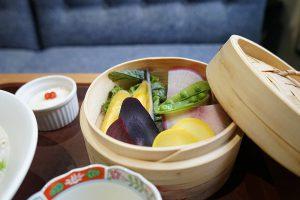 武蔵小杉 粥や佐藤 蒸し野菜